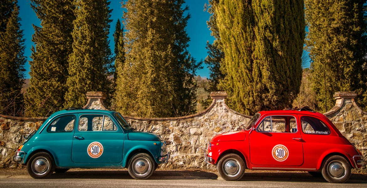 500 touring club tours in tuscany