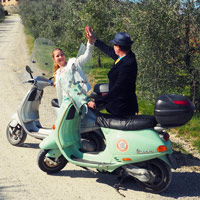 Fiat 500 tour in tuscany