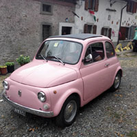 Vintage FIat 500 tour Florence: Isabella from our fleet 4