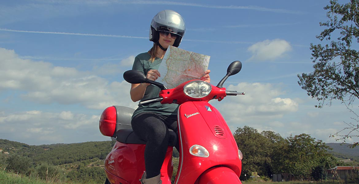 Vespa tour in Florence, tuscany