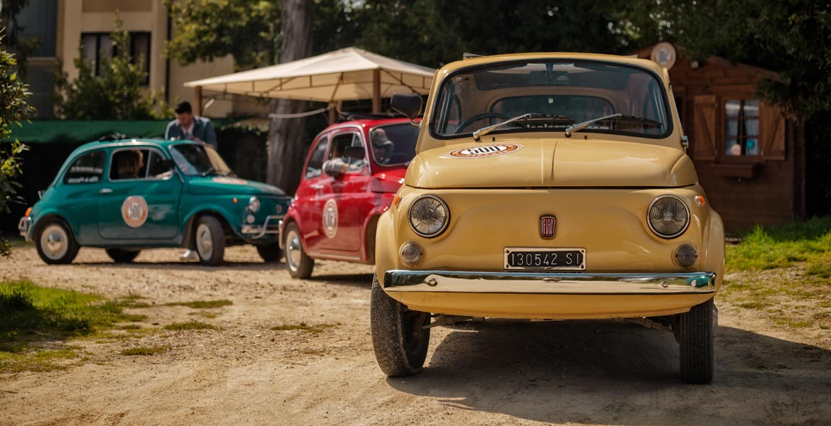 500 touring club our photogallery of vintage fiat 500 and vespa scooter tours. Black Bedroom Furniture Sets. Home Design Ideas