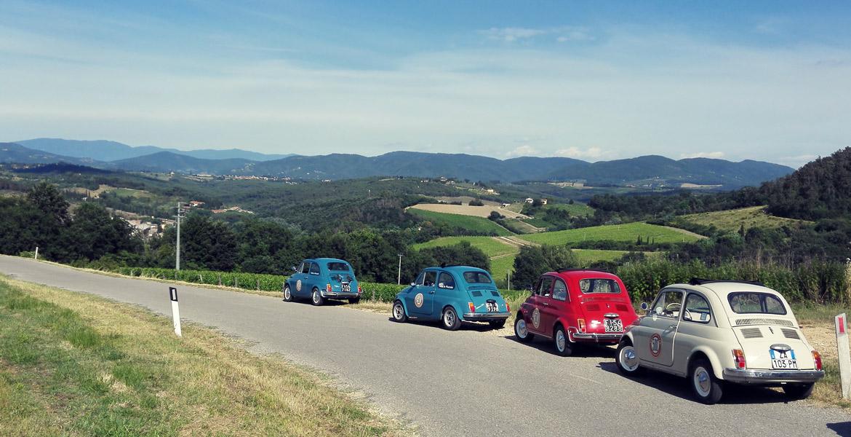 Classic Car Rental In Tuscany