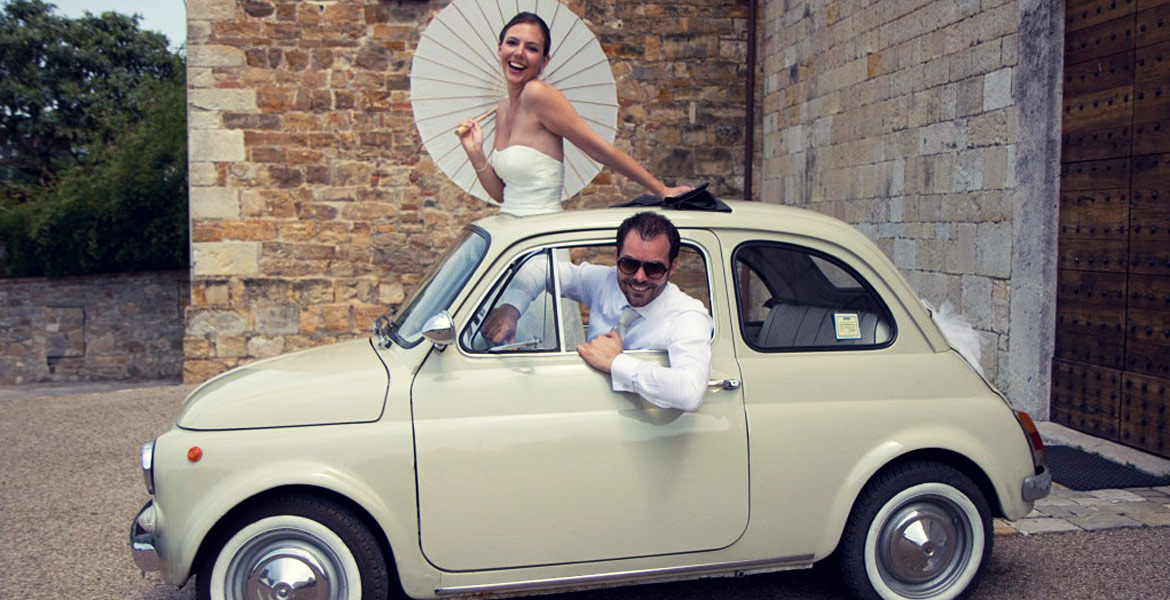 Fashion fiat 500 marriage rental